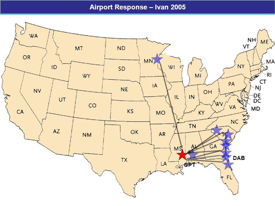 Airport Response – Ivan 2005
