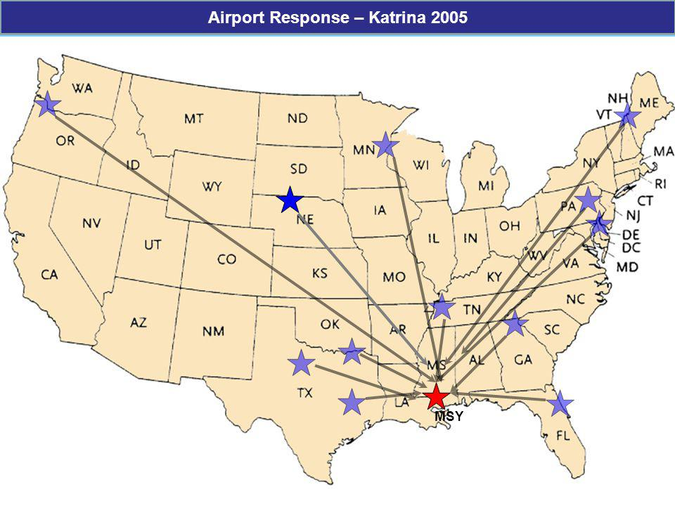 Airport Response – Katrina 2005