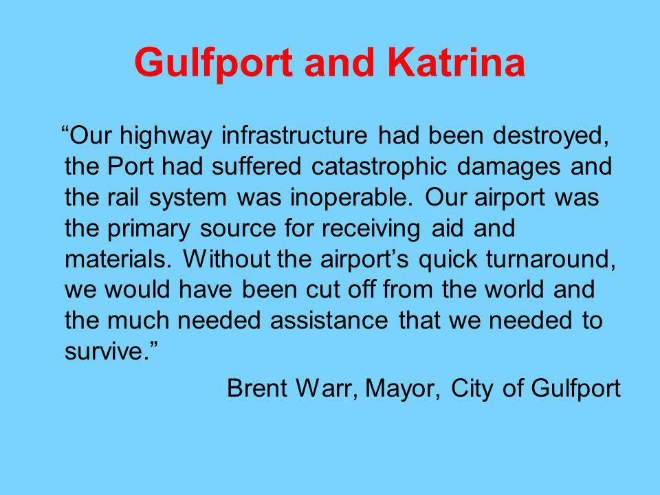 Gulfport and Katrina