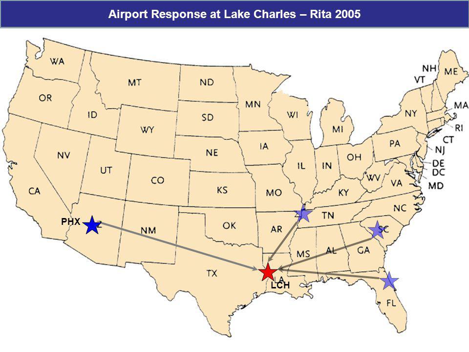 Airport Response at Lake Charles – Rita 2005