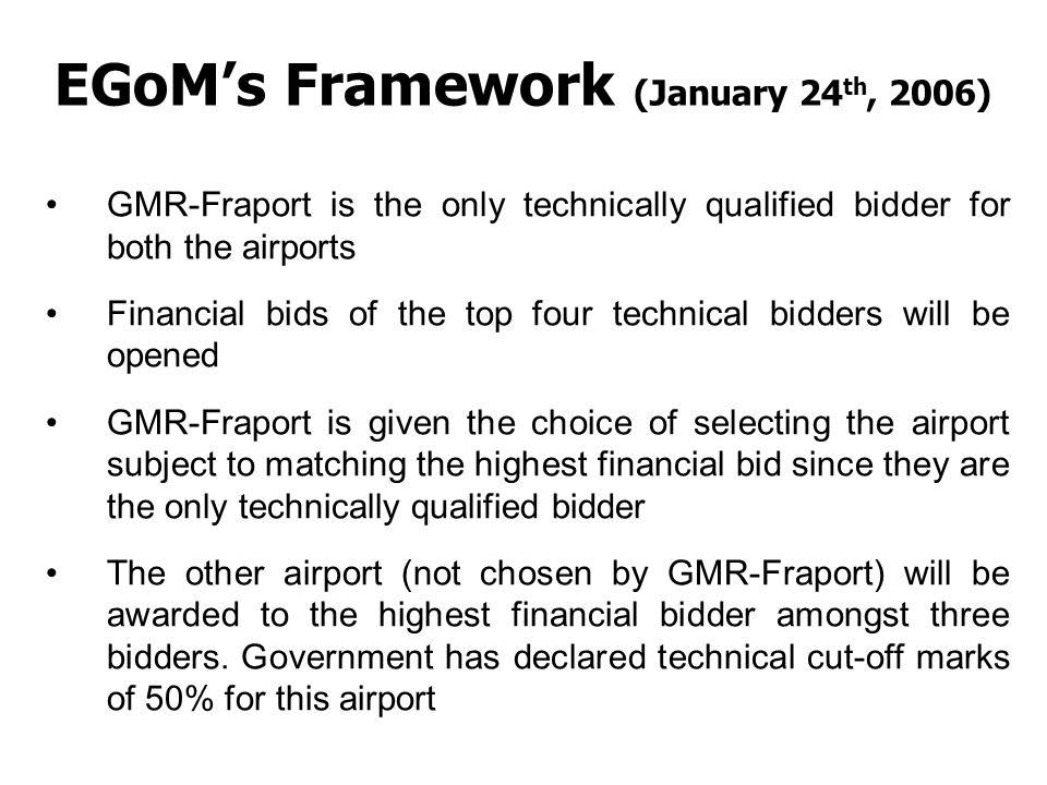 EGoM's Framework (January 24th, 2006)