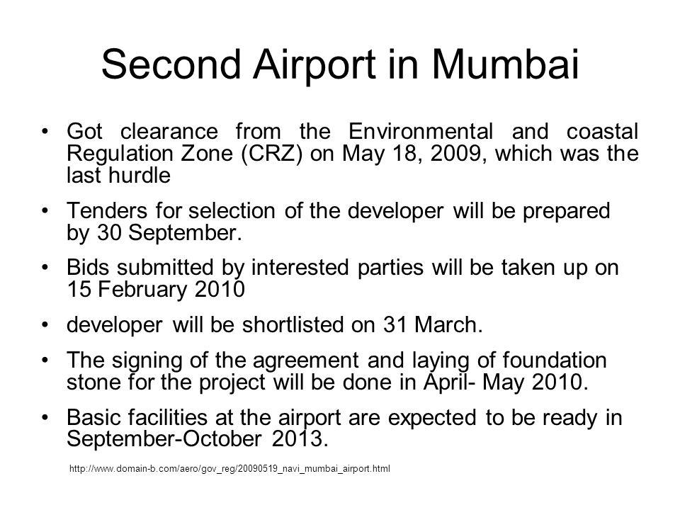 Second Airport in Mumbai