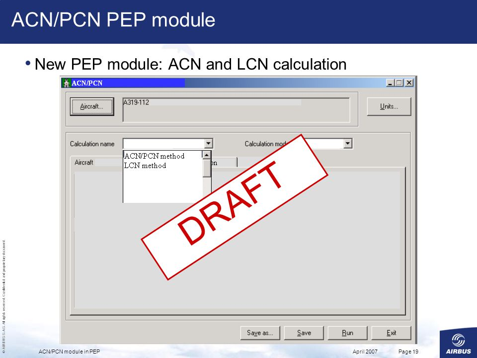 DRAFT ACN/PCN PEP module New PEP module: ACN and LCN calculation