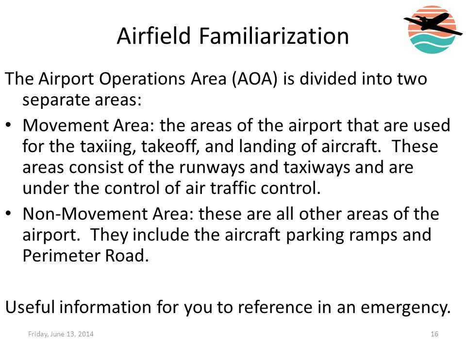 Airfield Familiarization