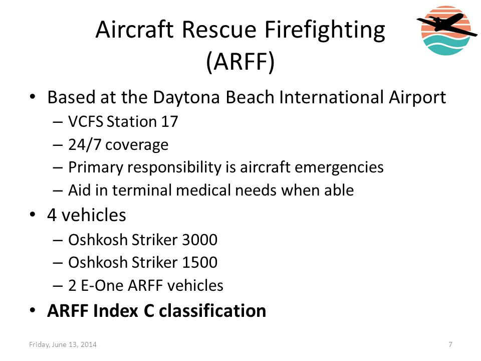 Aircraft Rescue Firefighting (ARFF)