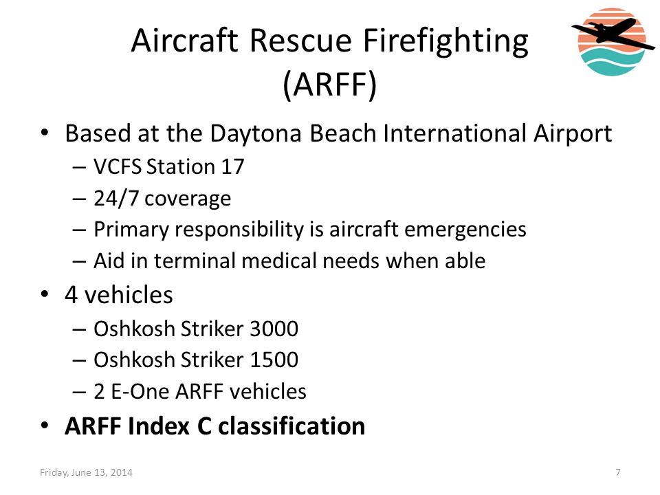Aircraft Rescue Firefighting (ARFF)