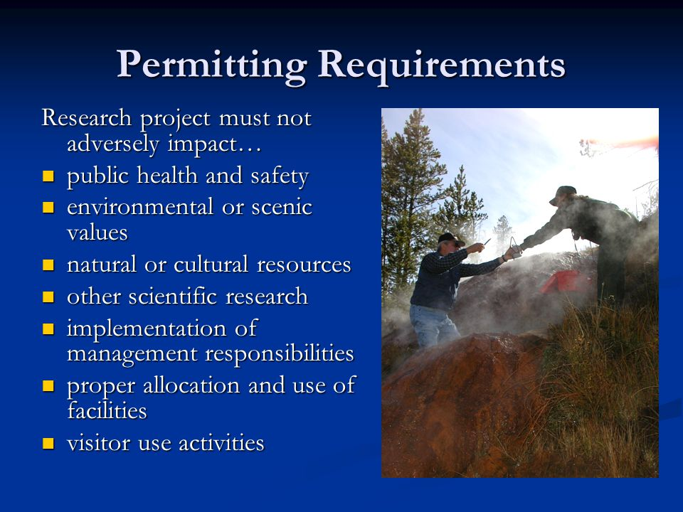 Permitting Requirements