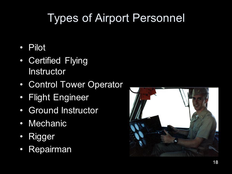Types of Airport Personnel