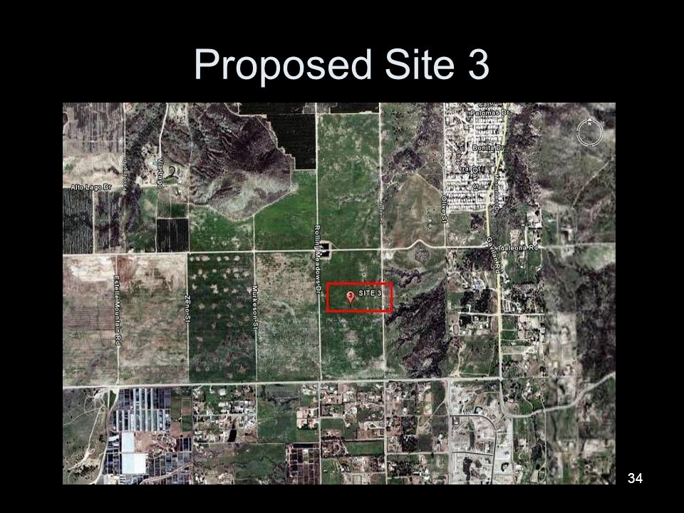 Proposed Site 3