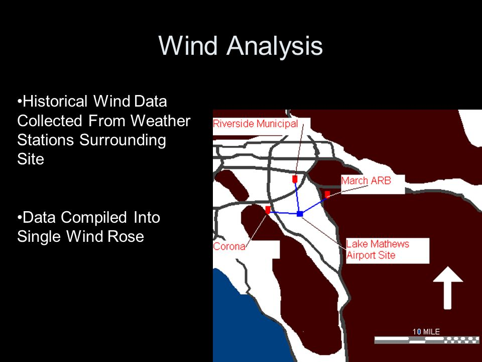 Wind Analysis Historical Wind Data Collected From Weather Stations Surrounding Site.