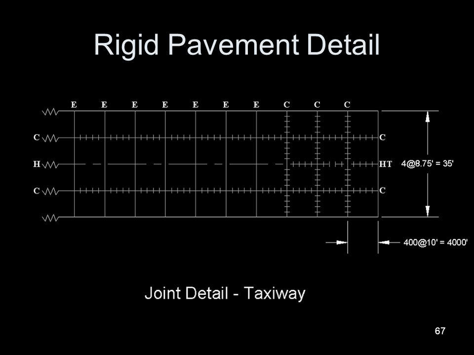 Rigid Pavement Detail