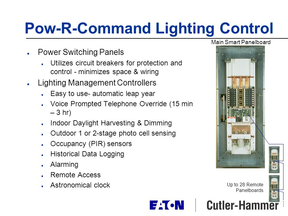 Pow-R-Command Lighting Control