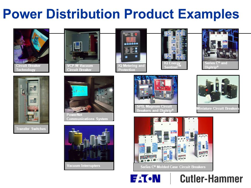 Power Distribution Product Examples