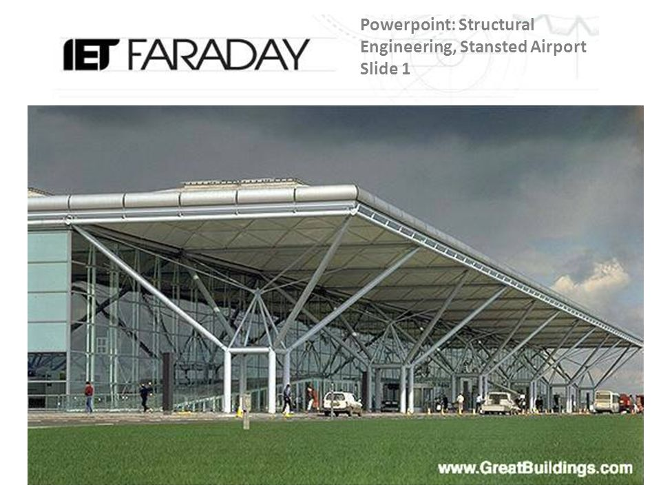 Powerpoint: Structural Engineering, Stansted Airport Slide 1