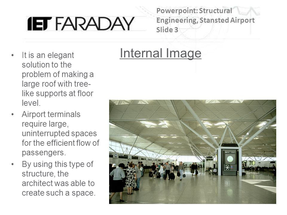 Powerpoint: Structural Engineering, Stansted Airport Slide 3
