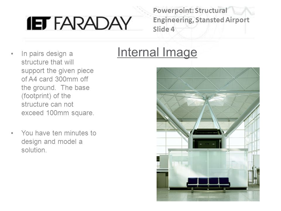 Powerpoint: Structural Engineering, Stansted Airport Slide 4