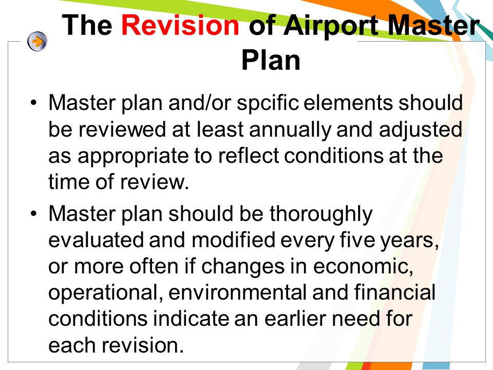 The Revision of Airport Master Plan