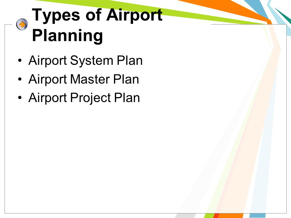 Types of Airport Planning