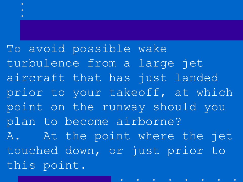 To avoid possible wake turbulence from a large jet aircraft that has just landed prior to your takeoff, at which point on the runway should you plan to become airborne