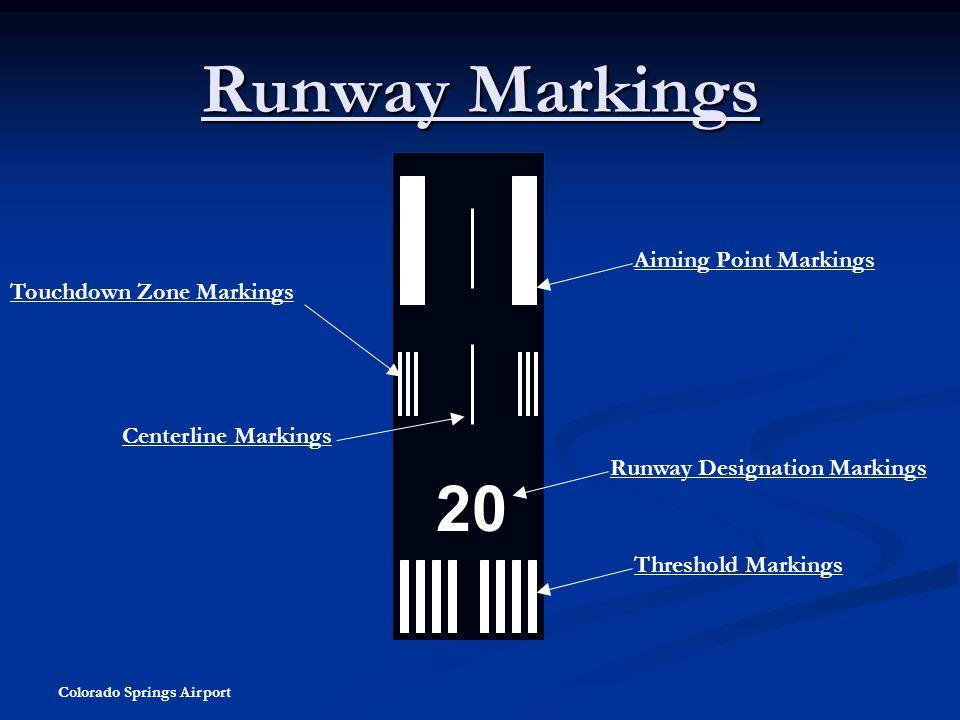 Runway Markings 20 Aiming Point Markings Touchdown Zone Markings