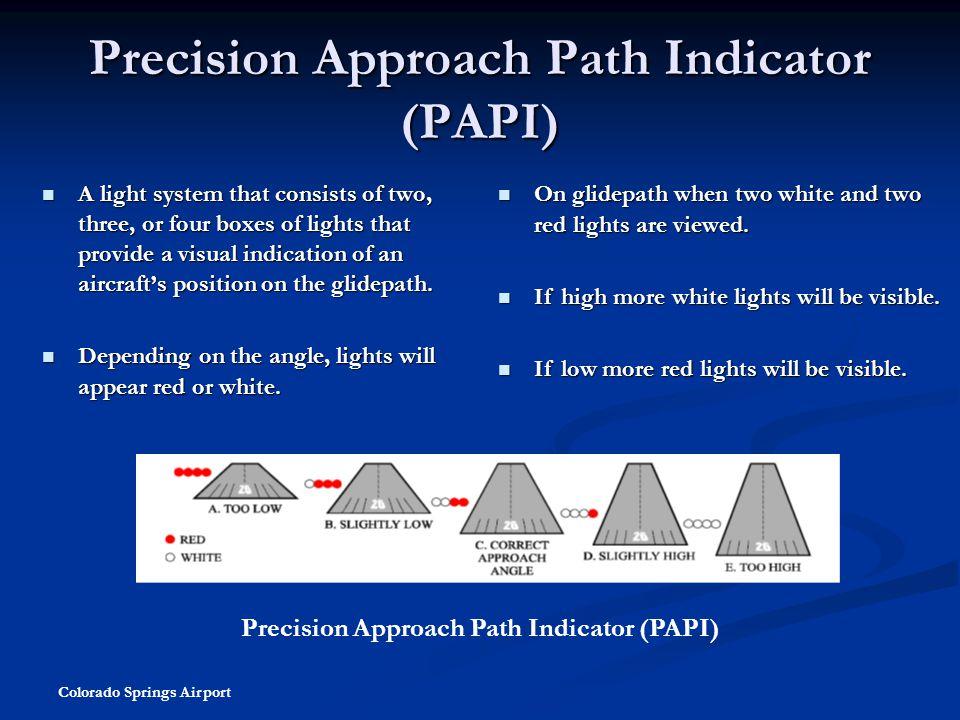 Precision Approach Path Indicator (PAPI)