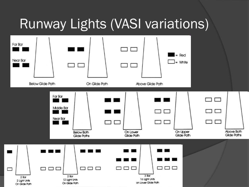 Runway Lights (VASI variations)