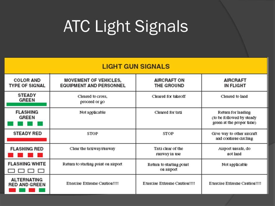 ATC Light Signals