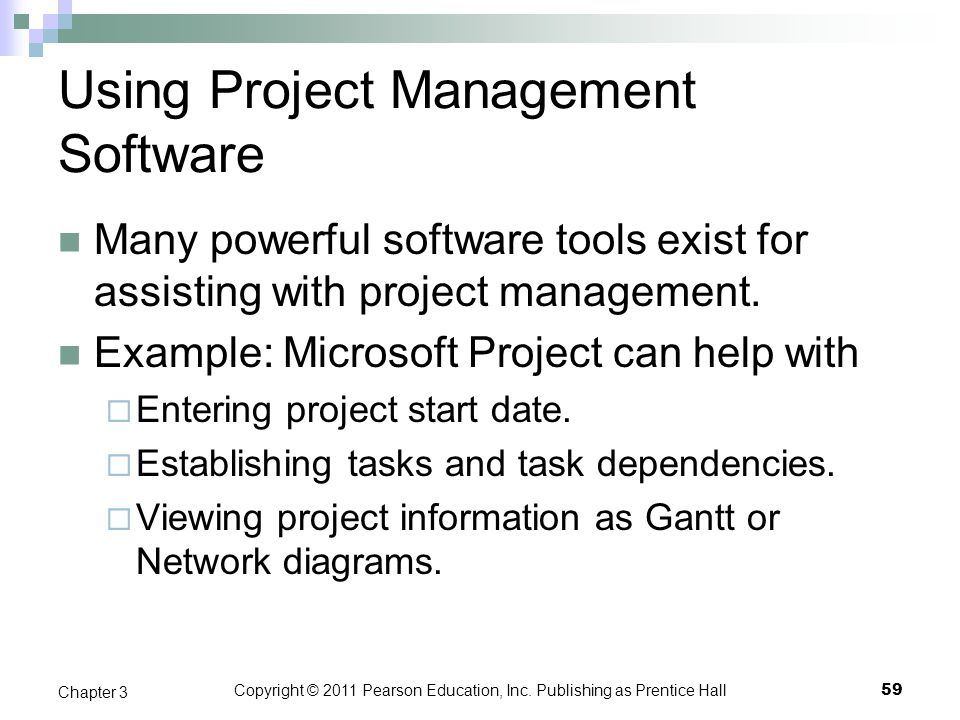 Using Project Management Software