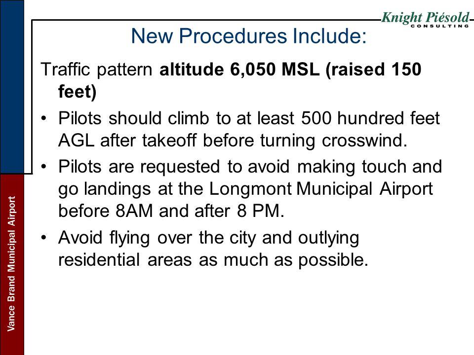 New Procedures Include: