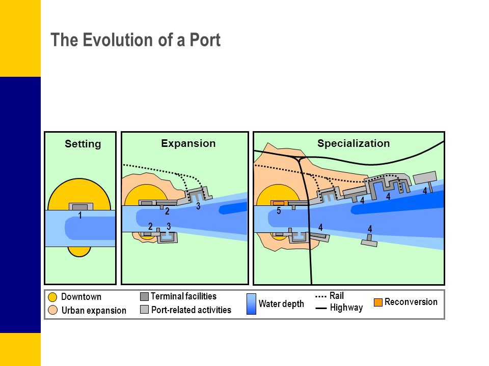 The Evolution of a Port Setting Expansion Specialization 4 4 4 3 2 5 1