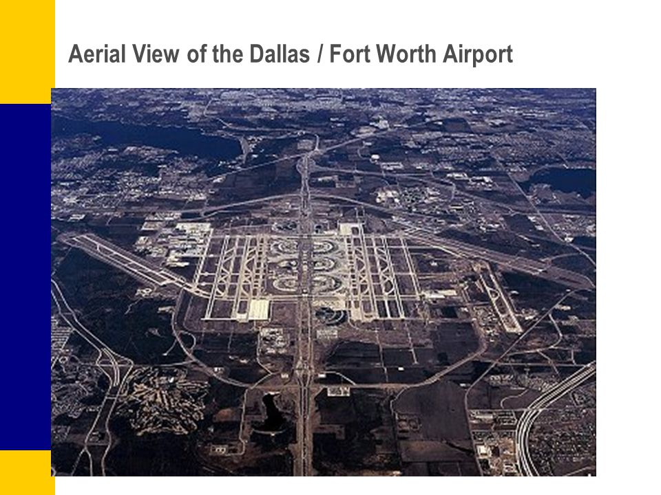 Aerial View of the Dallas / Fort Worth Airport