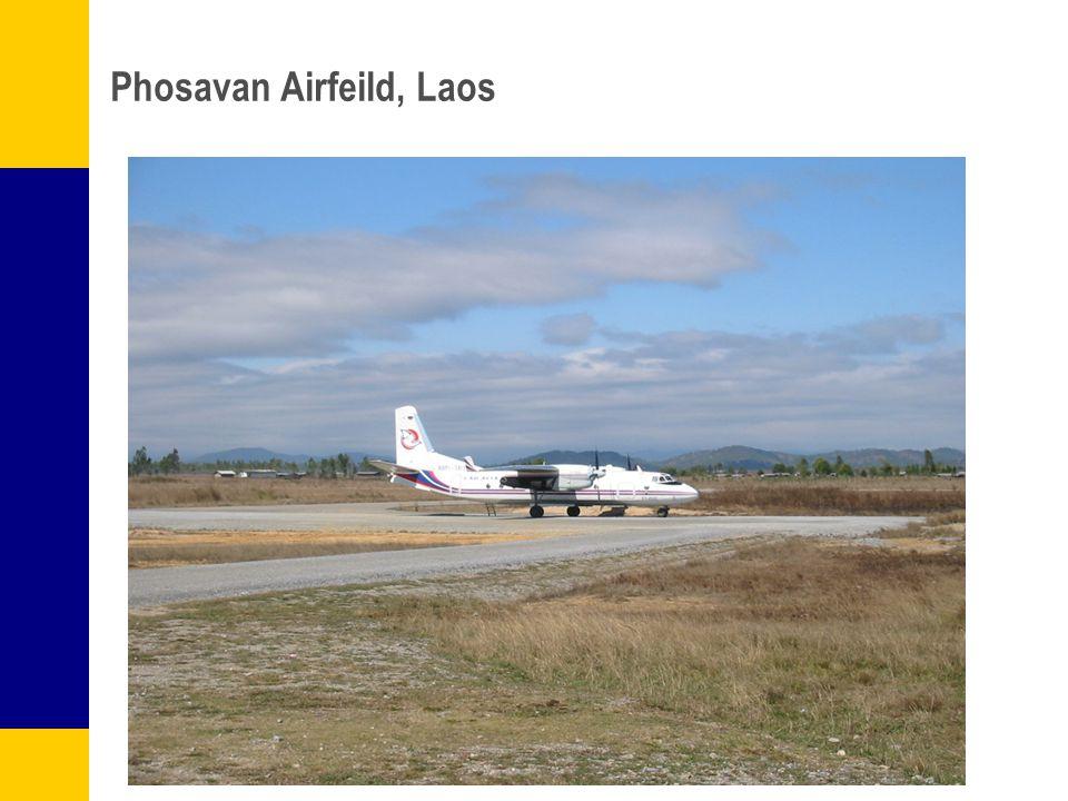Phosavan Airfeild, Laos