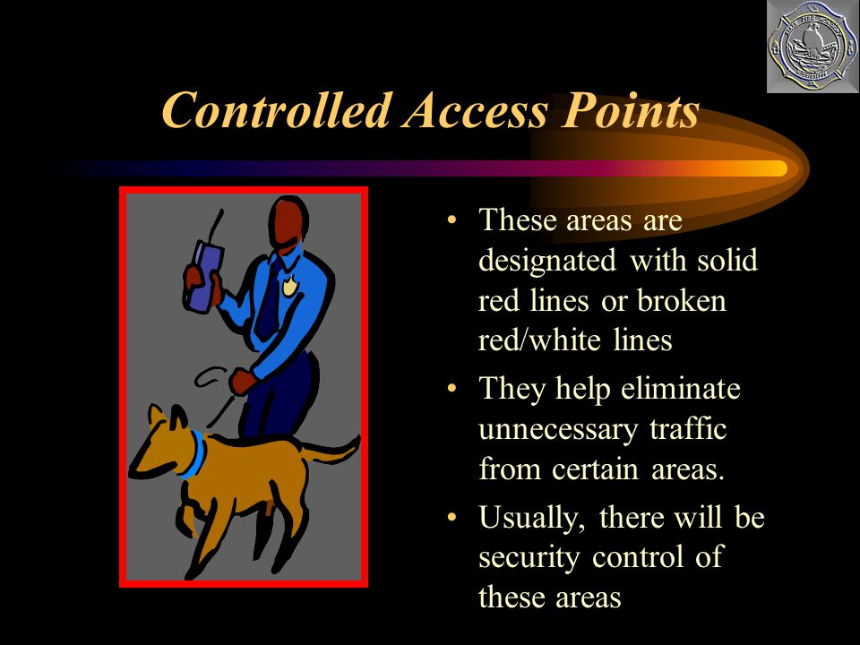 Controlled Access Points
