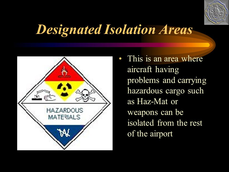 Designated Isolation Areas