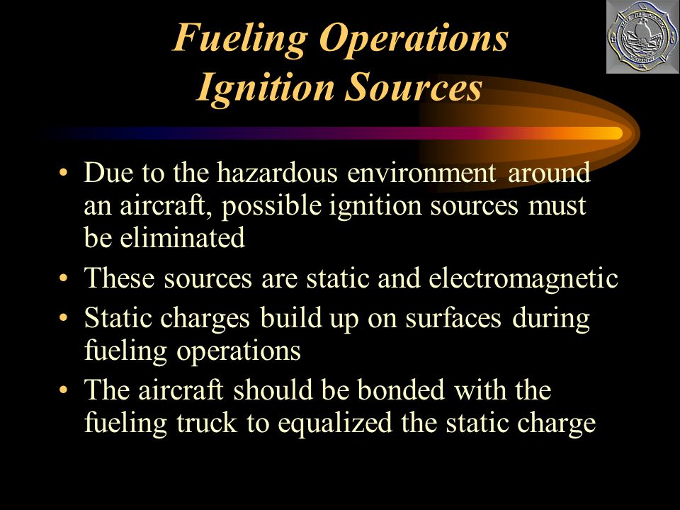 Fueling Operations Ignition Sources
