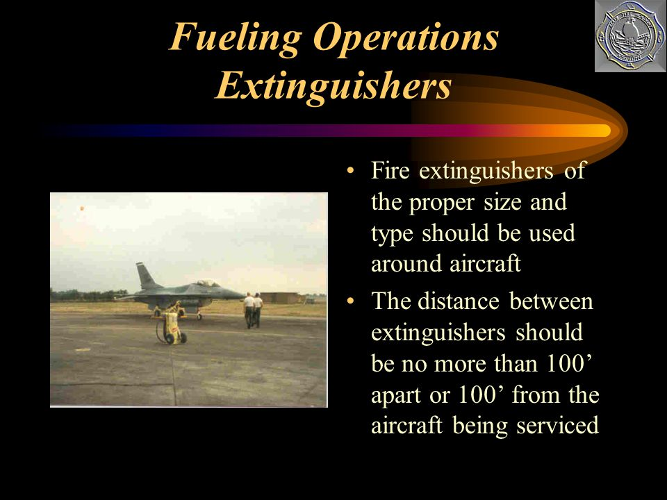 Fueling Operations Extinguishers