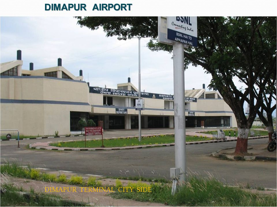 Dimapur airport DIMAPUR TERMINAL CITY SIDE