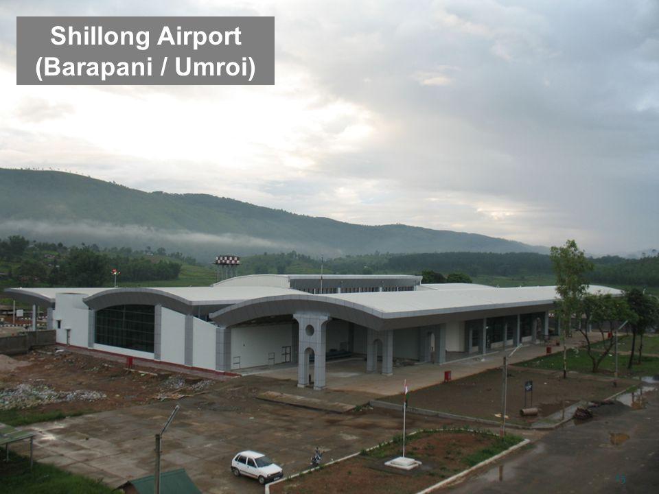 Shillong Airport (Barapani / Umroi)