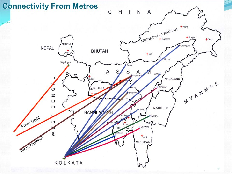 Connectivity From Metros