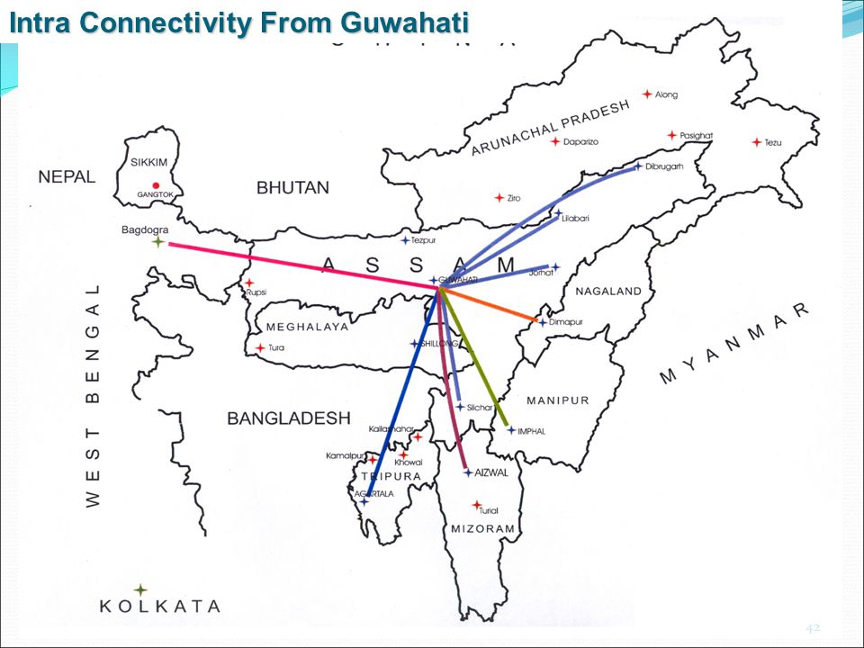 Intra Connectivity From Guwahati