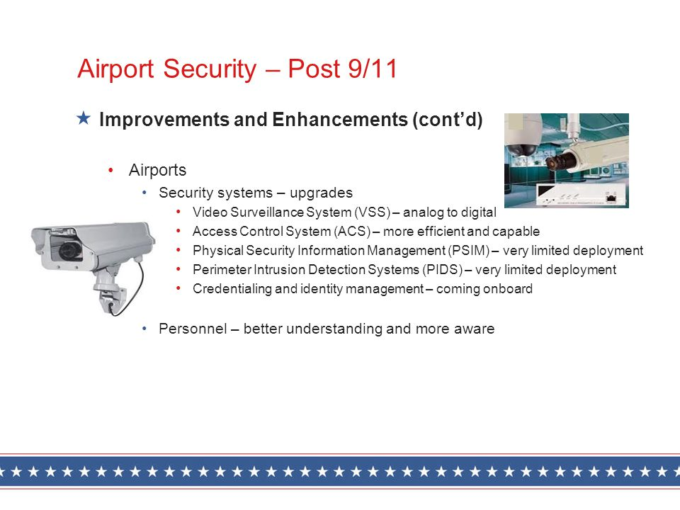 Airport Security – Post 9/11