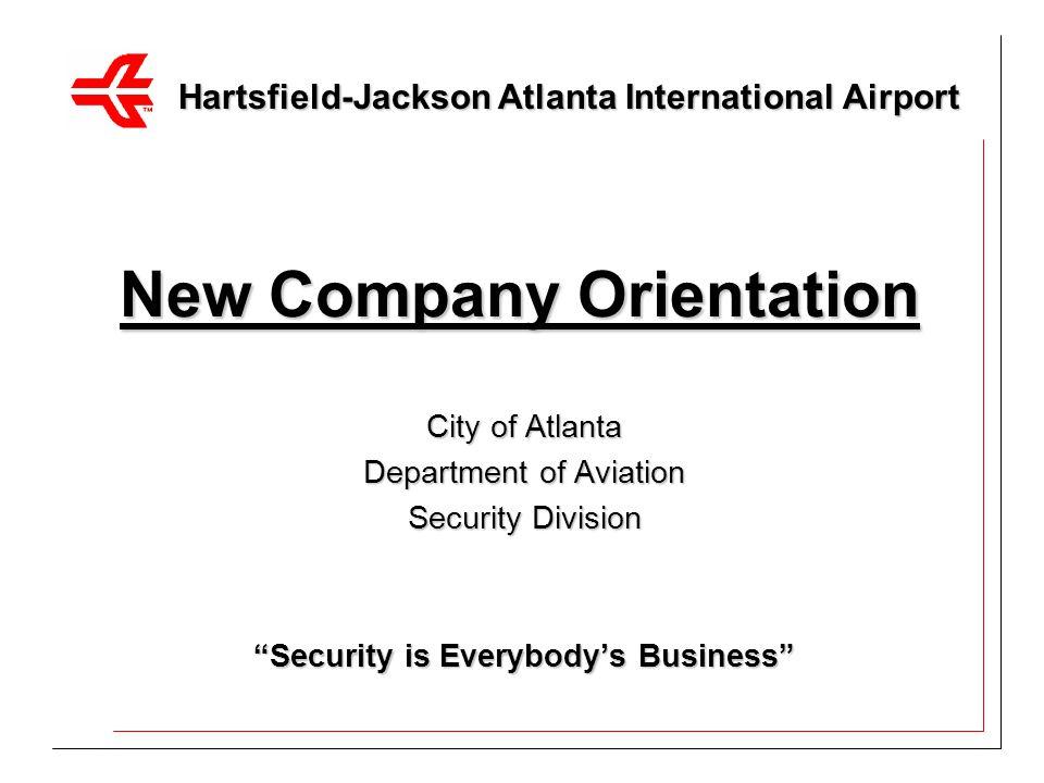 New Company Orientation