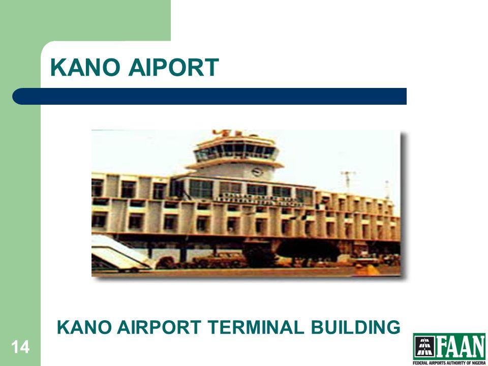 KANO AIPORT KANO AIRPORT TERMINAL BUILDING