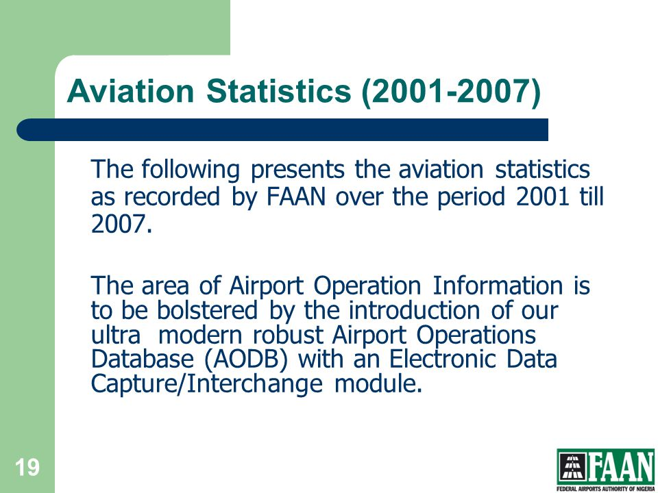 Aviation Statistics (2001-2007)