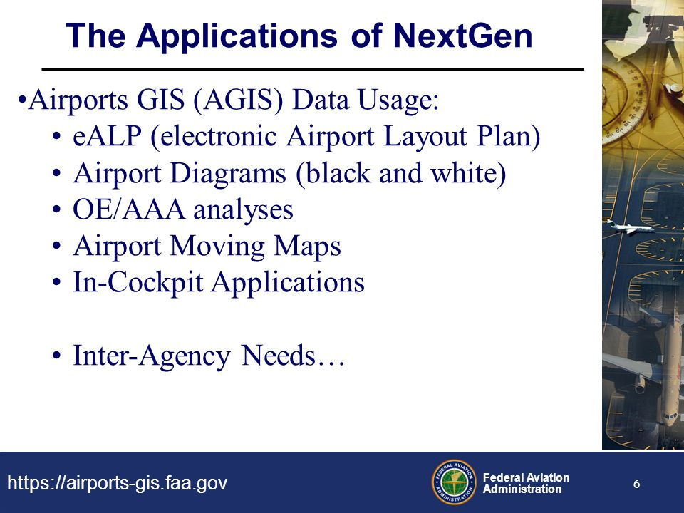 The Applications of NextGen