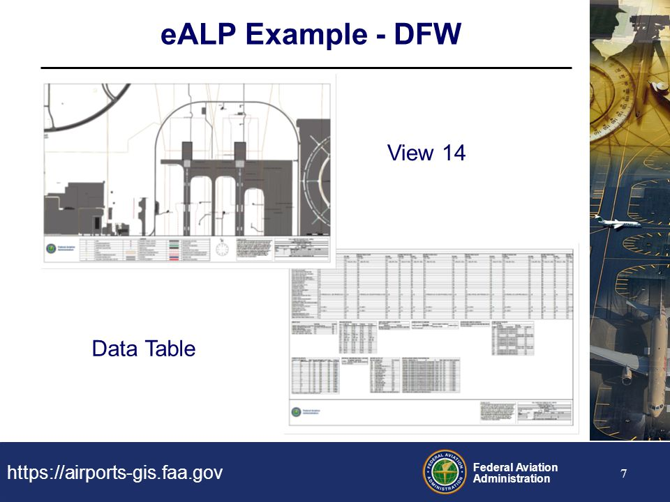 eALP Example - DFW View 14 Data Table