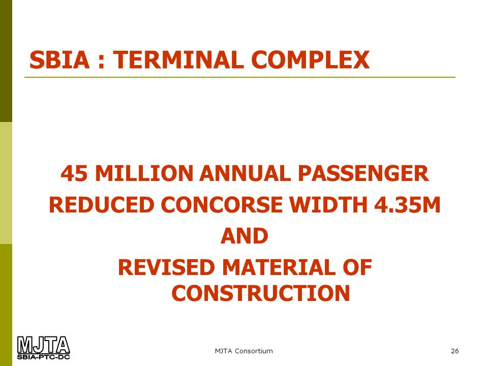 SBIA : TERMINAL COMPLEX