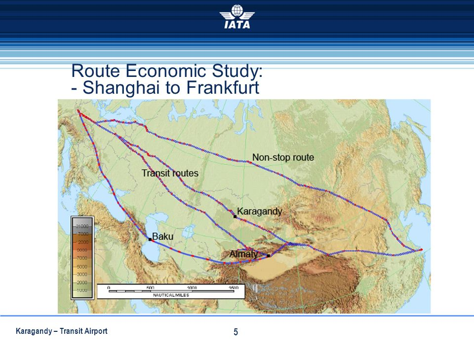 Route Economic Study: - Shanghai to Frankfurt