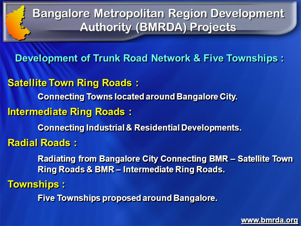 Development of Trunk Road Network & Five Townships :