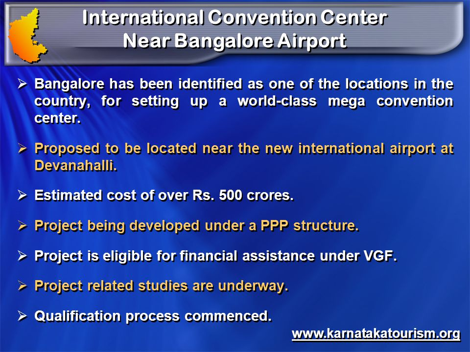 International Convention Center Near Bangalore Airport